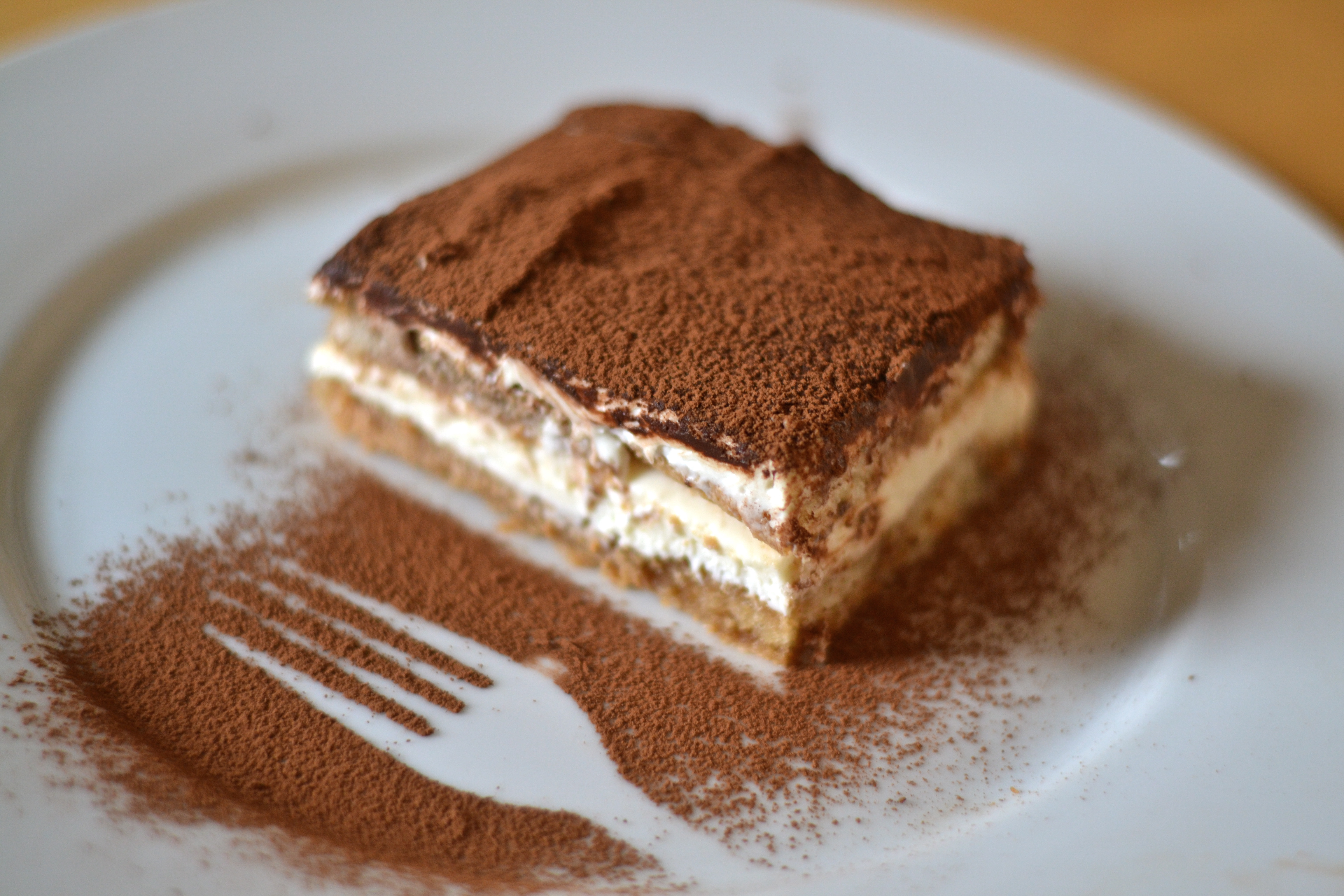tiramisu egg yolk and sponge fingers essay The tiramisu world cup in treviso, now in its second year, wants variations on the traditional recipe for italy's favourite dish to include a range of experimental ingredients — from onion to.