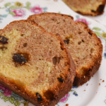 Cinnamon and Raisin Marbled Loaf