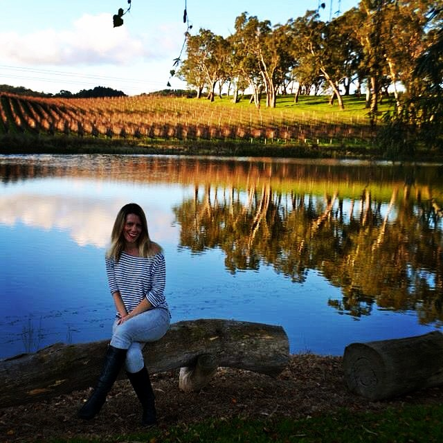 Reflections on the water @goldingwines - one of my favourite wineries in South Australia #golding #goldingwines #visitsouthaustralia #winery #vineyard #wine #adelaidehills #visitadelaide