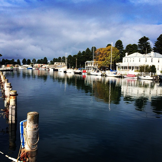 Reflections on the water @portfairypics #portfairy #victoria #moyneriver #photooftheday #travel #lisaeatsworld