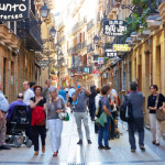 Parte Vieja. Old town. Donostia. San Sebastian. Basque Country. Spain.