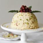 White Christmas Pudding Cheesecake