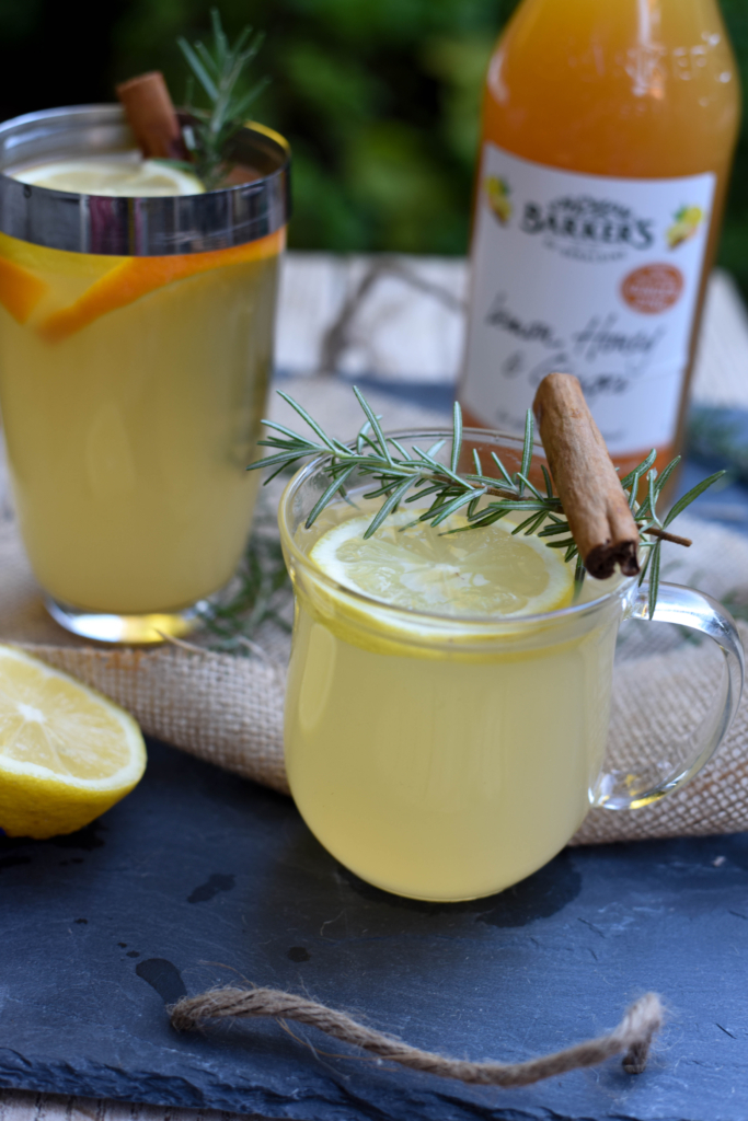... citrus fruits. It makes the perfect winter warmer. And you'll be fit